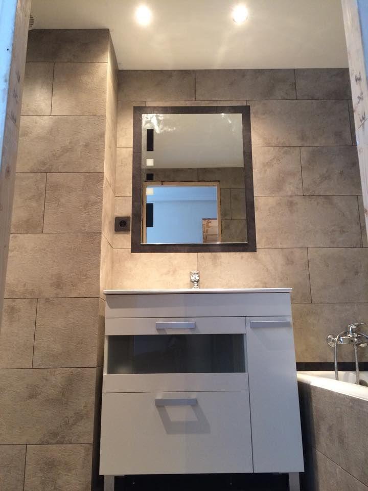 Reforma de baño sin obras con vinilo para paredes ...