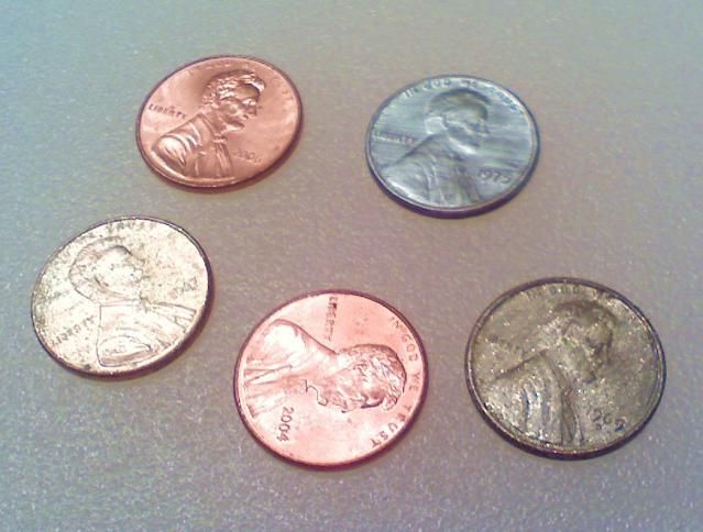 Science Magic Tricks that Will Wow Your Friends: Gold and Silver Pennies