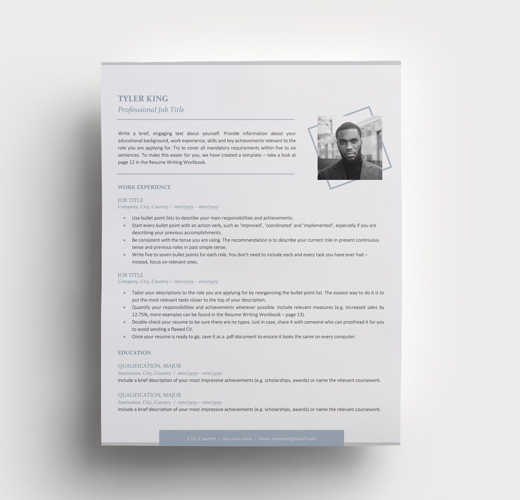 Practical Tips For Writing A Perfect Personal Statement 5 Examples Modern Resume Template Unique Resume Template Resume Template