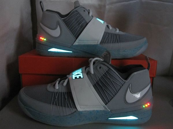 Nike Zoom Revis MAG Custom (1) Grown up light up shoes