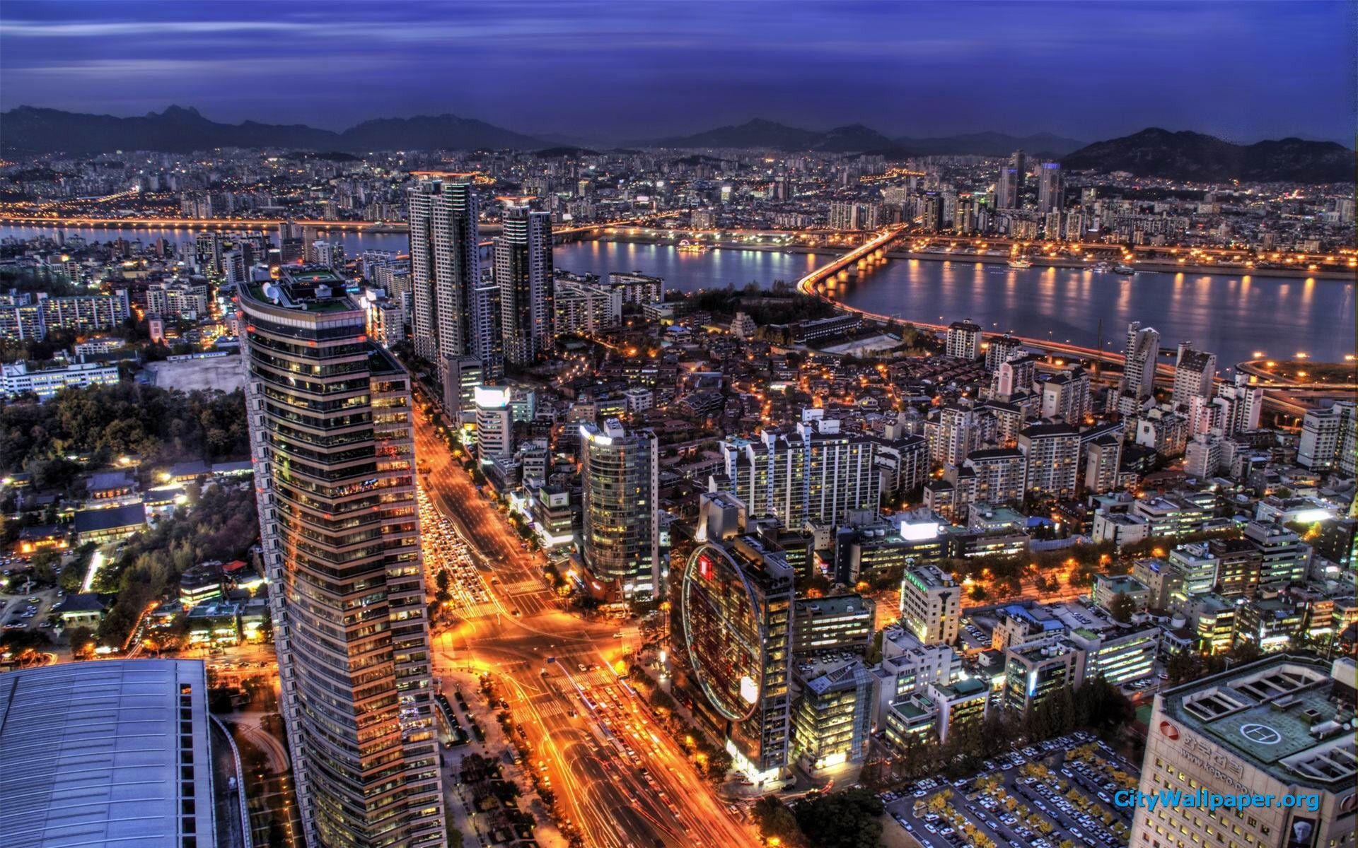 40 Of The World S Most Impressive Skylines Travel Cheap Destinations South Korea South Korea Travel