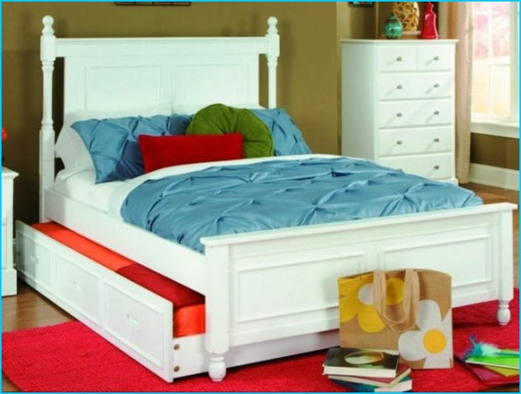 Pin On Winston Queen bed with trundle underneath