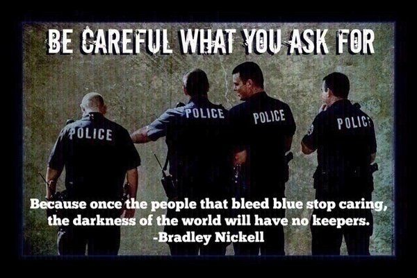 "For all you ""pro-cop-killers"" 