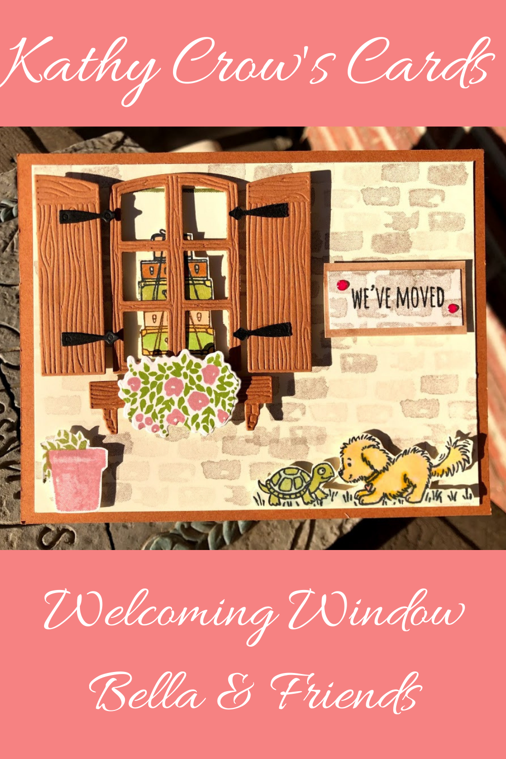 Welcoming Window Welcoming Window begs to be with
