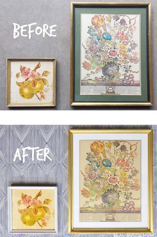 How to frame small art prints be beautiful  oversized diy painting design projects by jennifer allwood pinterest and also rh