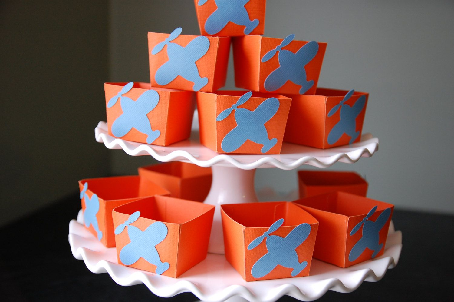 Airplane Candy Cups Airplane Party Supplies Airplane by GiggleBees