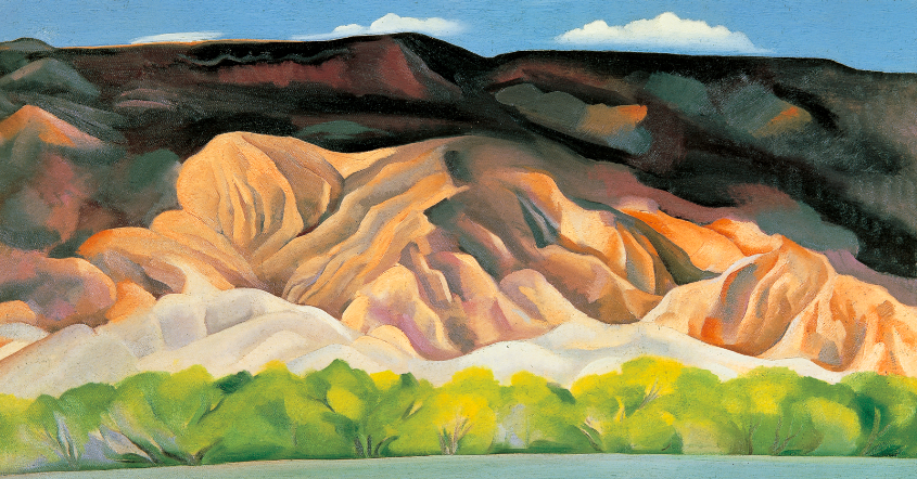 Georgia O Keeffe S New Exhibit In Santa Fe And Old Bomb