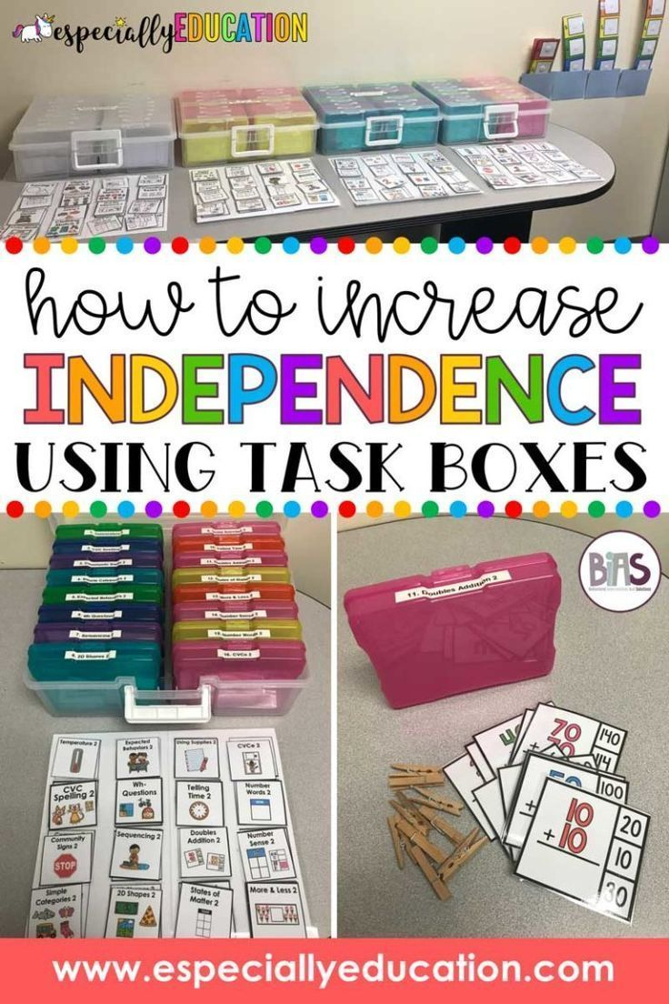 Instilling Independence in the Classroom – Special education classroom Special education classroo