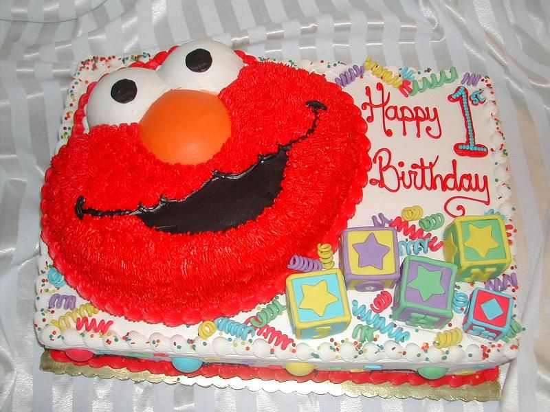 kids birthday cakes An Elmo Party Recipes to Cook Pinterest