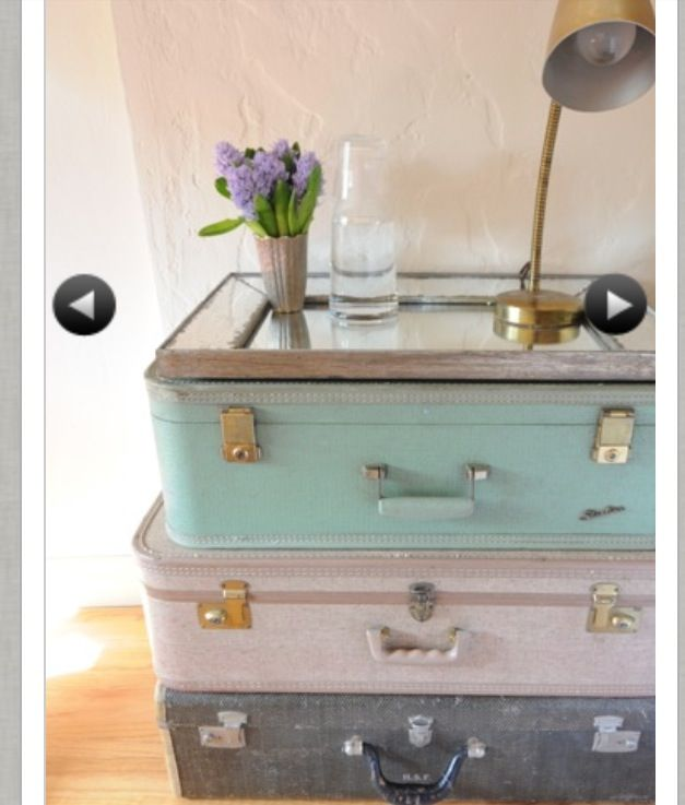 What About This For A Bedside Table Baby Home Diy Vintage