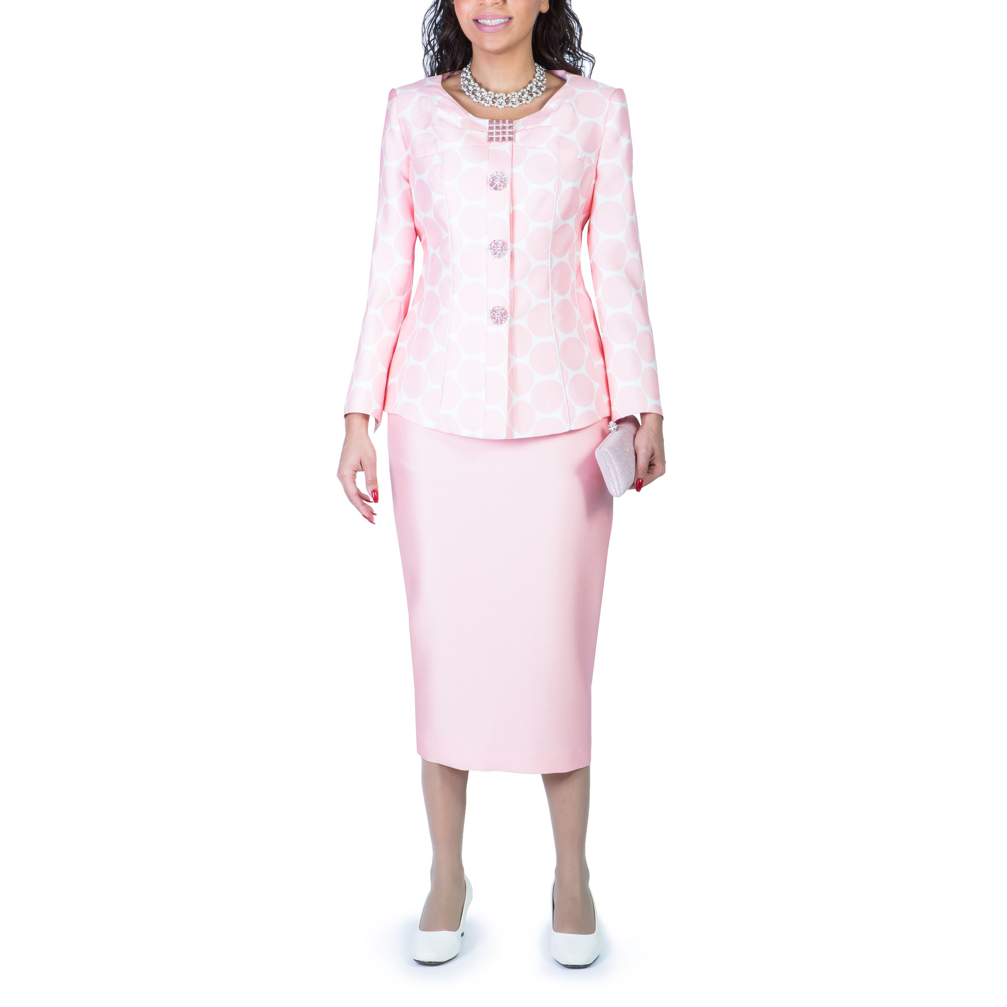 Giovanna Collection Women's 2-piece Skirt Suit