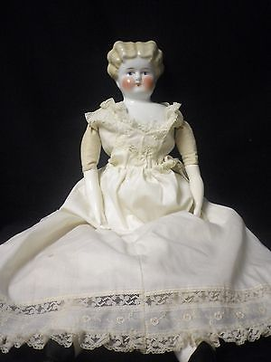 21-034-Antique-German-Blonde-China-Head-Doll