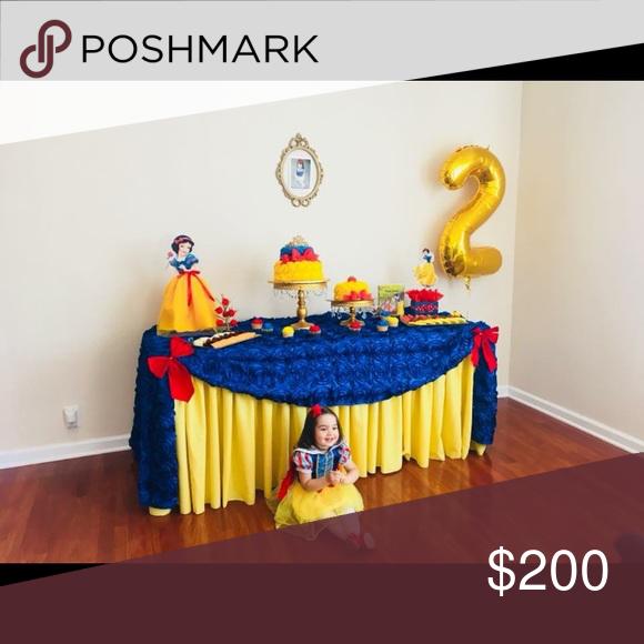 Pinterest & Disney Princess Snow White Birthday Party 🎊 Everything you ...