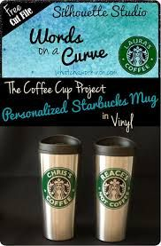 image result for editable starbucks cup template cricut ideas