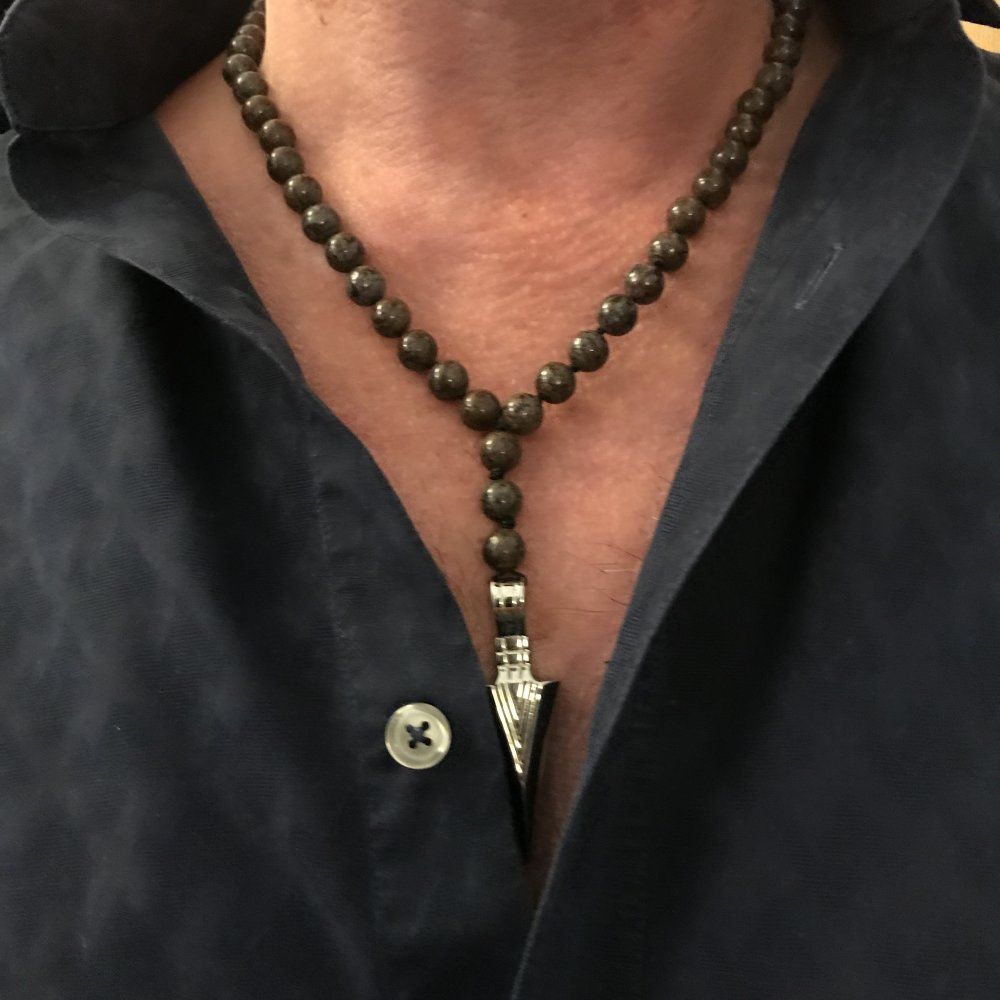 collier homme mala