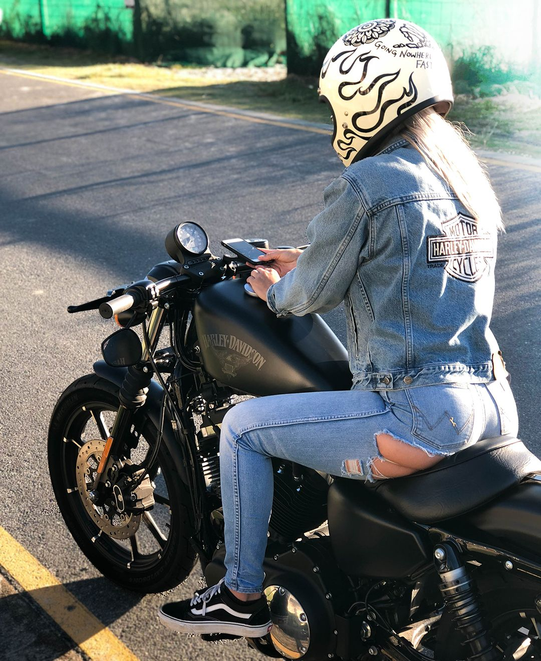 Moto Mount Kit All Iphone Devices Motorcycle Girl Biker Girl