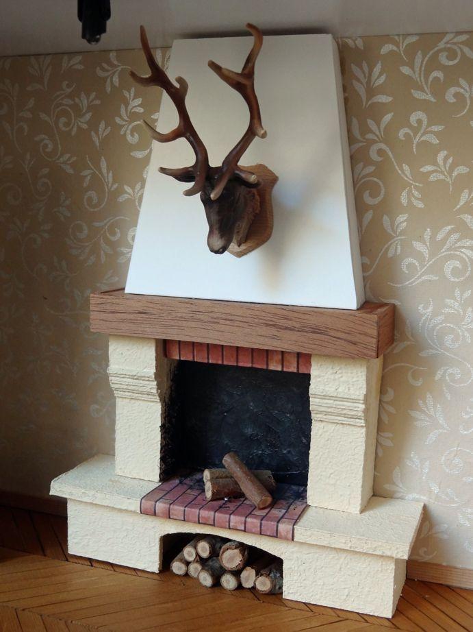 Resultado De Imagen Para Como Hacer Chimeneas Navidenas En Carton Cardboard Fireplace Christmas Fireplace Faux Fireplace Diy