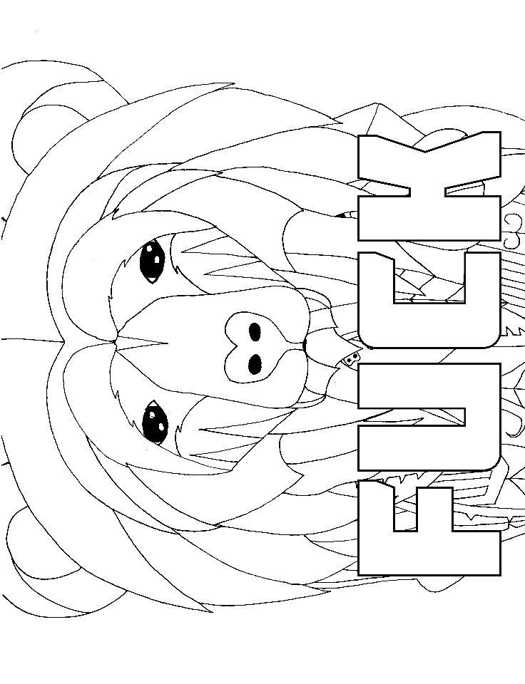 Bear - Adult Coloring page - swear 14 FREE printable coloring pages