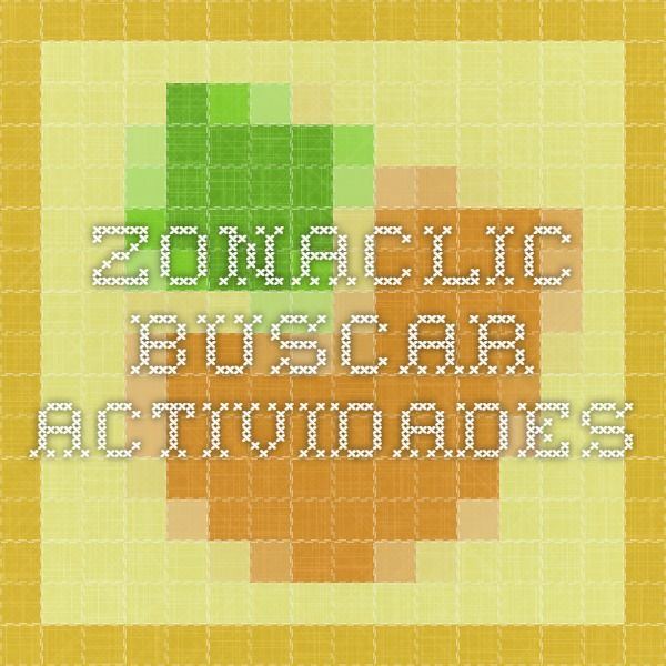 zonaClic - Buscar actividades