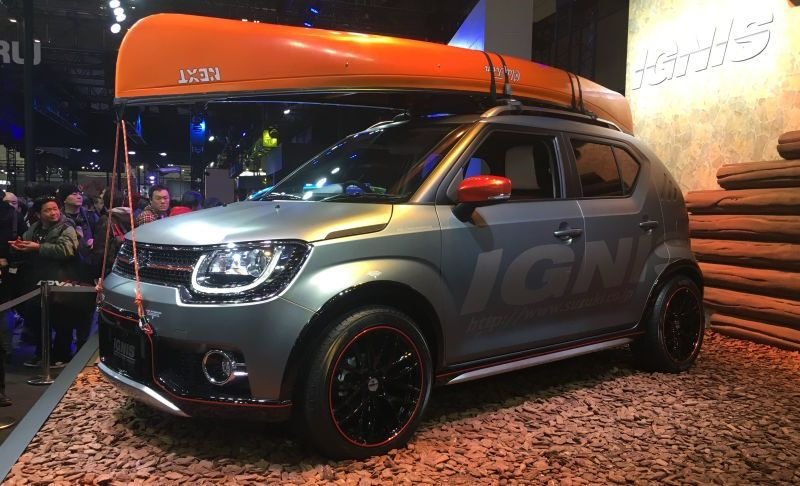 Suzuki Ignis Im 4 This Is It Canoe Sold Separately Small Cars