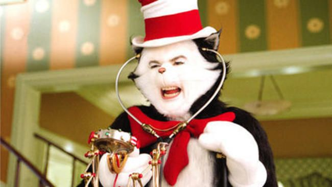 50 Greatest Movie Cats Cat In The Hat Movie Iconic Movies Great Movies