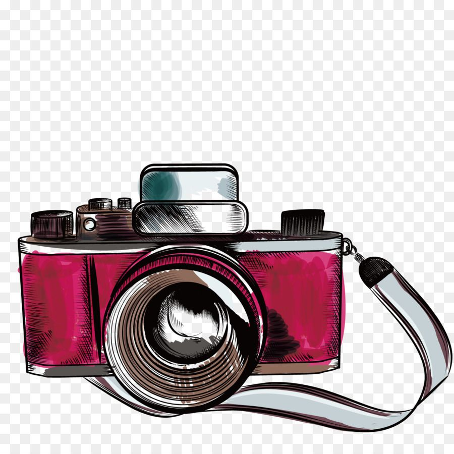 Camera Drawing Photography Illustration Vector Old Camera Png Download 1500 1500 Fre Camera De Desenho Frases Sobre Fotografar Camera Fotografica Desenho