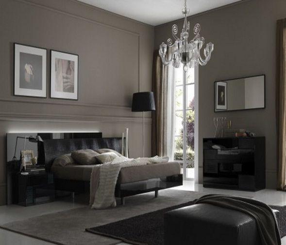Bedroom In Black Colores Para Dormitorio Colores Para Dormitorios Matrimoniales Dormitorios Rusticos