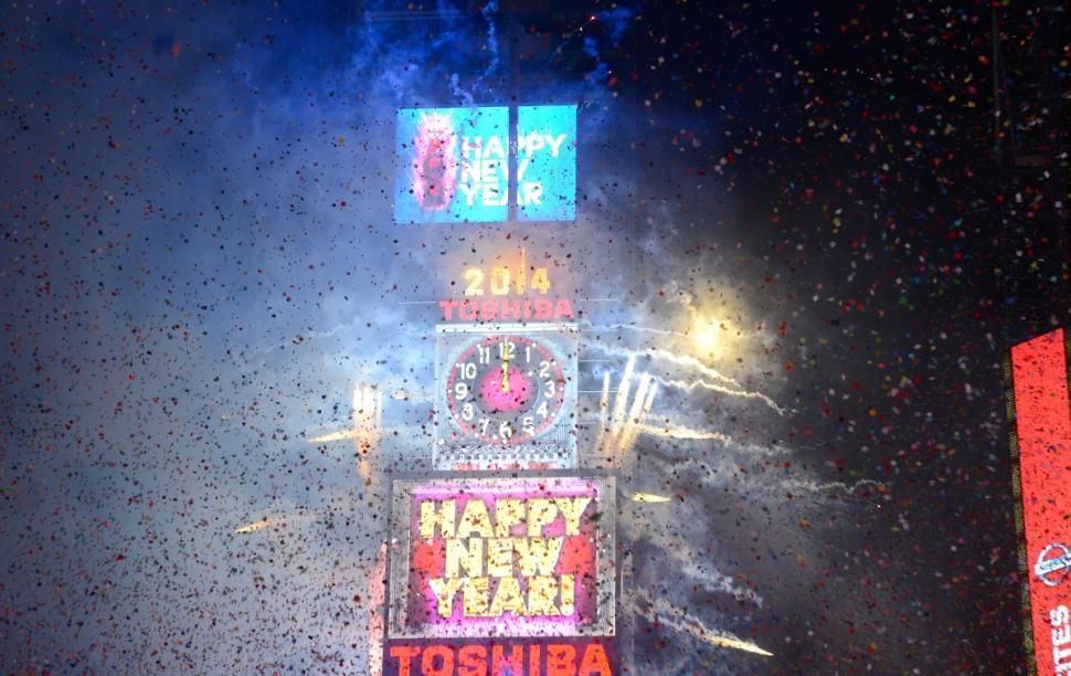 Watch the Times Square New Year's Eve celebration online