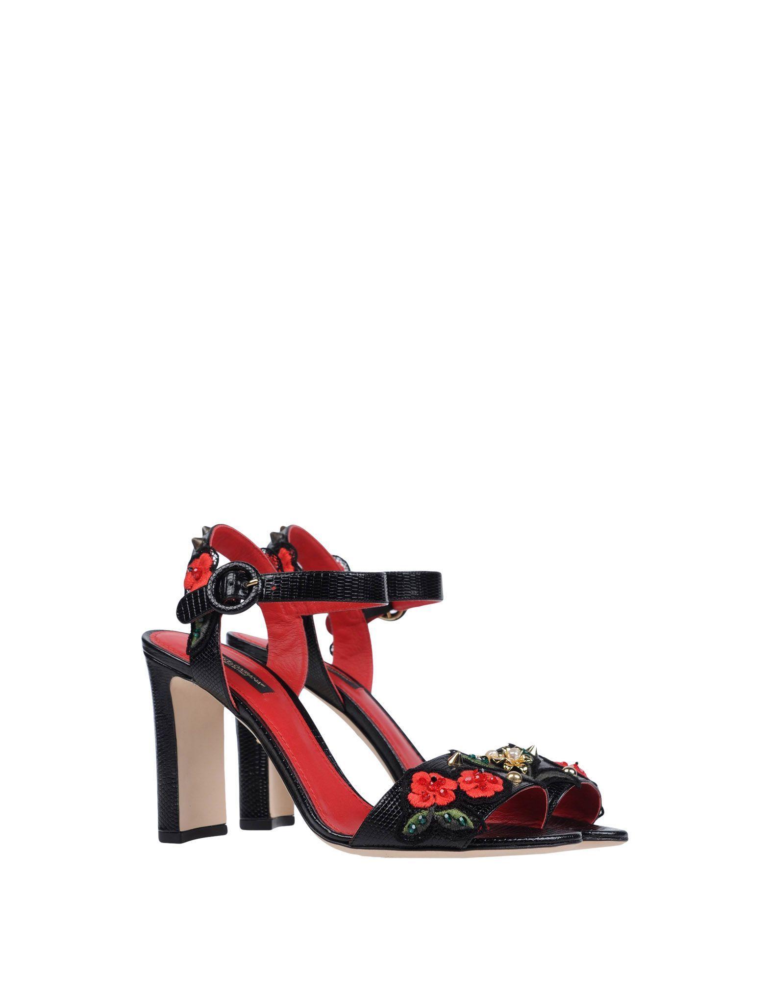 411d9dfb400486 Dolce   Gabbana Sandals - Women Dolce   Gabbana Sandals online on YOOX  United States - 11149093JW
