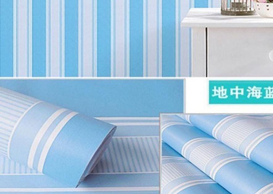 Wow 19 Wallpaper Warna Biru Dan Ungu Wdk 5980 3roll 2kg Wallpaper Dinding Salur Pink Hijau Biru Ungu Pelangi Warna Elegant 45cm X 1 Di 2020 Ungu Kertas Dinding Biru