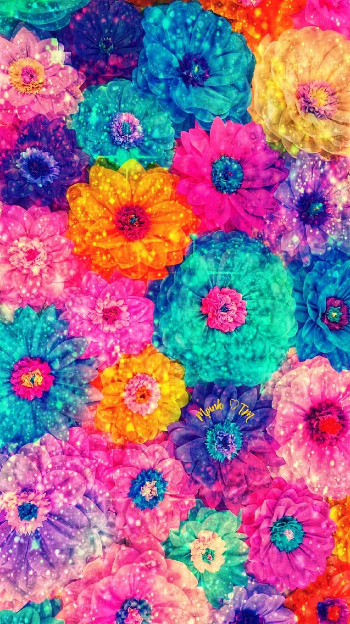 Colorful Bouquet Galaxy Wallpaper androidwallpaper