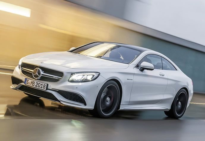 2015 Mercedes Benz S63 Amg Coupe Breaks Cover Mercedes Benz Amg