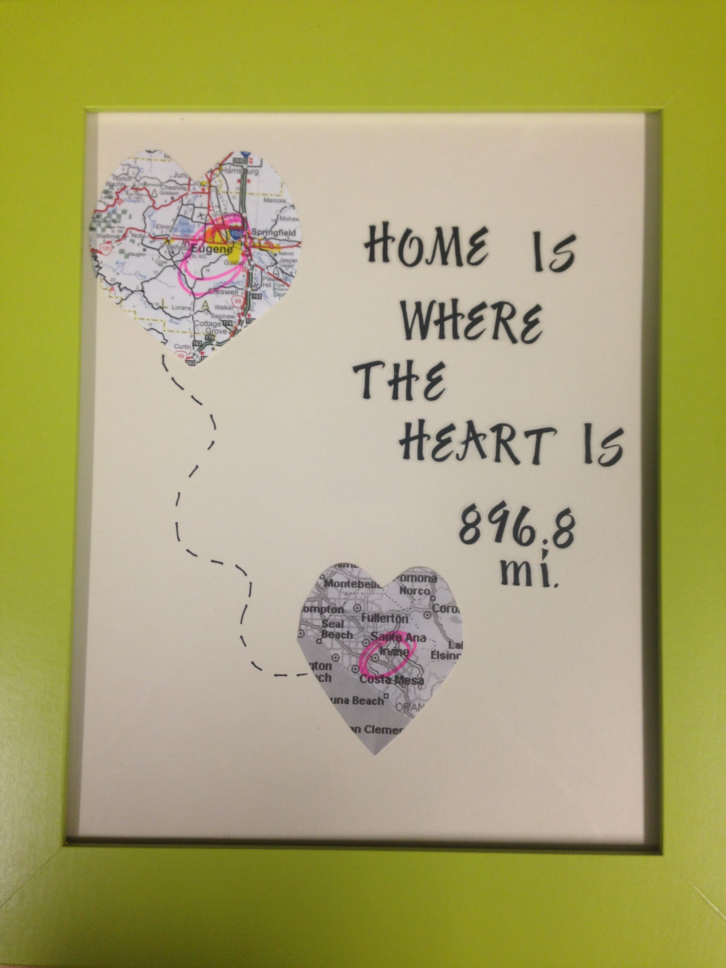 Going away gift for my sister | crafty | Pinterest | Gift, Craft and ...