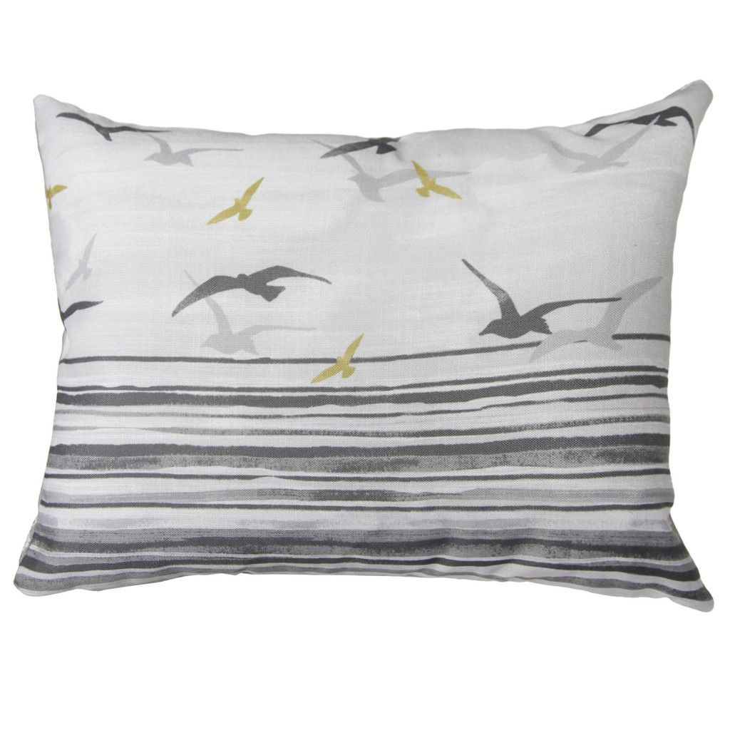 Rathmore Striped Cushion, Grey