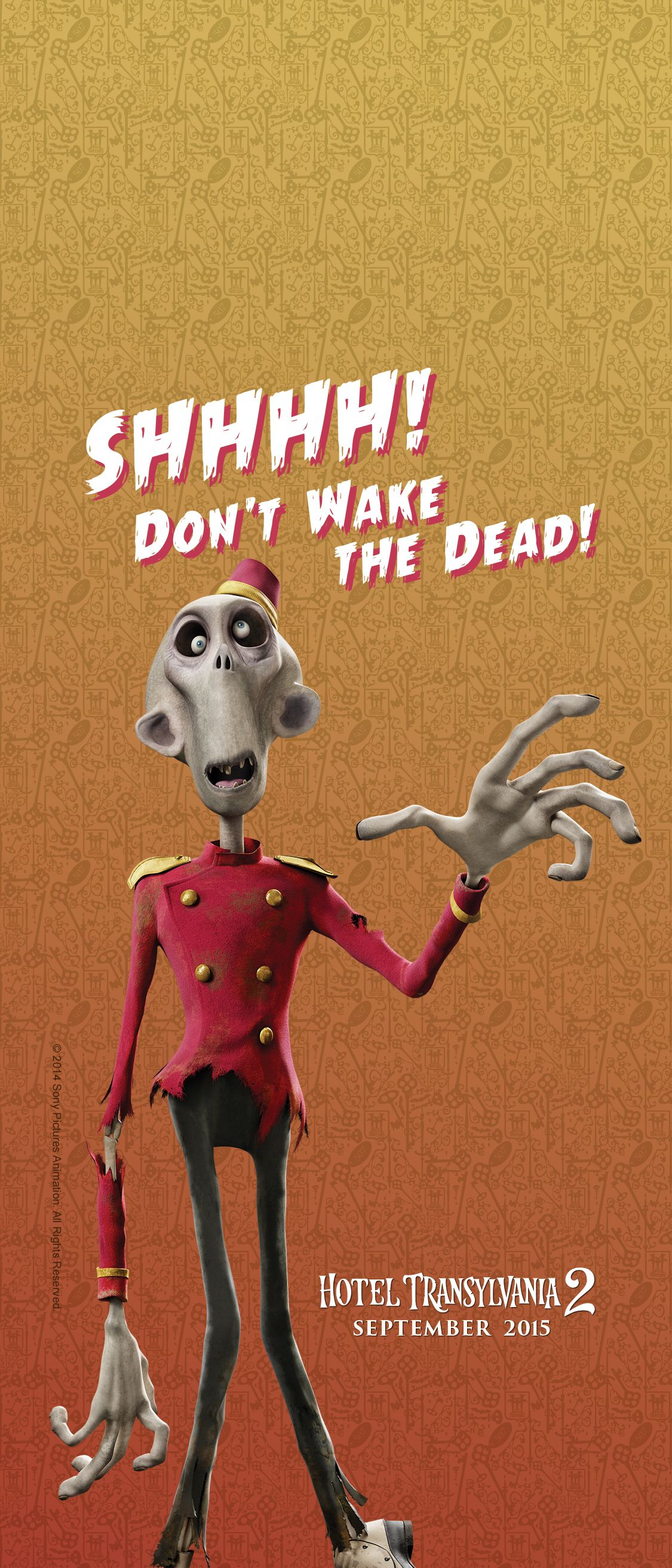 Zombie Ruthless Enforcer Of Hotel Transylvania