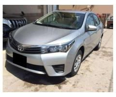 Toyota Corolla 2016 With Bank Leased On Easy Installments Lahore