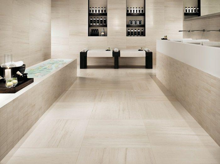 Rivestimento bagno chiaro cerca con google bagno modern floor tiles marble porcelain tile - Piastrelle finto marmo ...
