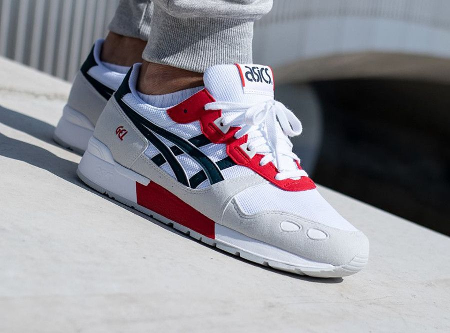 factory authentic ec2fe f68f7 Asics Gel Lyte  White Dark Ocean   asicsgel  baskets  sneakers