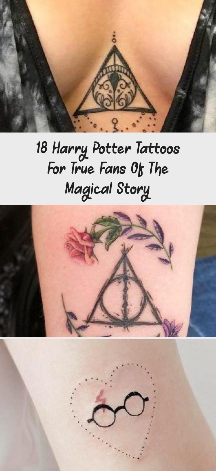 Photo of 18 tatouages Harry Potter pour les vrais fans de l'histoire magique – Tatouages