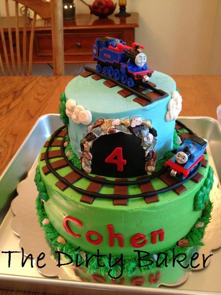 Thomas The Train Cake Thomas Train Cake Train Cake Train Birthday Cake