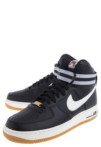 Bota Lifestyle Negra Nike Air Force 1 High '07 Nike … (With
