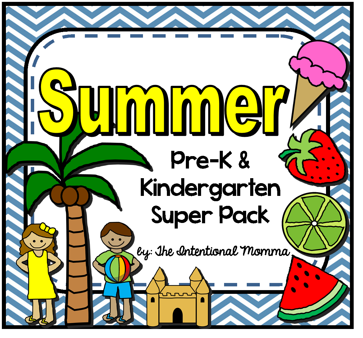Summer Printable Worksheets And Coloring Sheets For