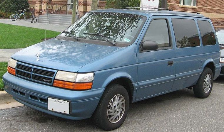 2nd Gen Dodge Caravan Just Like Mine With Images Grand Caravan Mini Van Chrysler Voyager