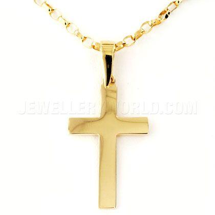Plain cross pendant plain gold cross necklace crosses plain cross pendant plain gold cross necklace aloadofball Image collections