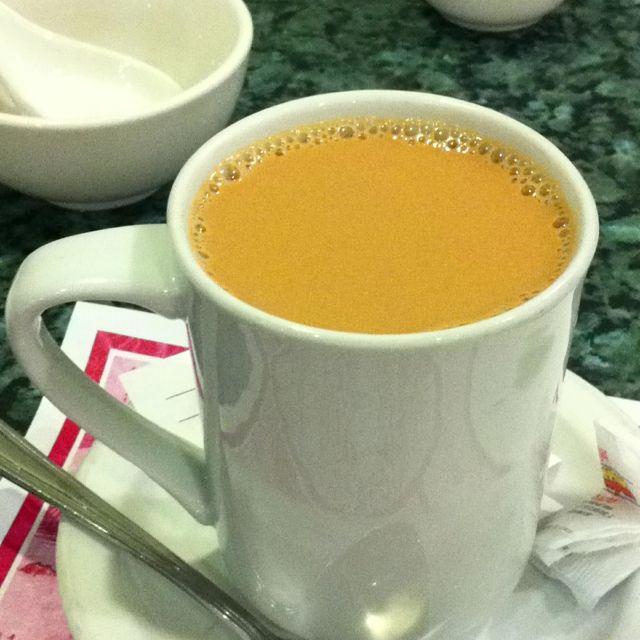 Hong Kong Style milk tea.