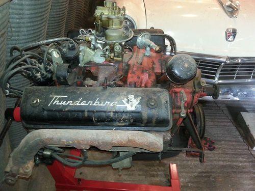 Ford Thunderbird Y-block!