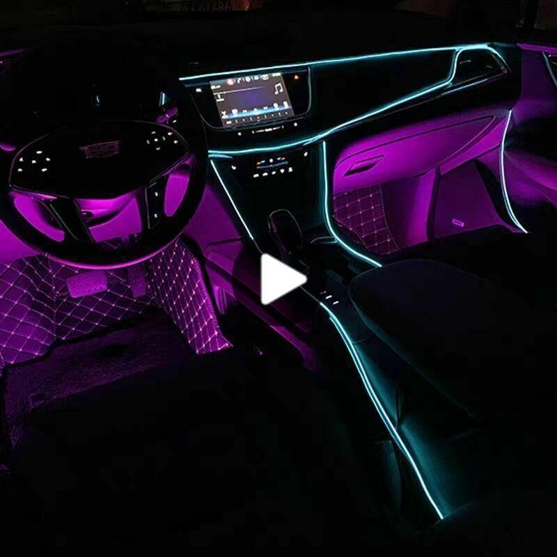 auto led ambient light 5m atmosphere