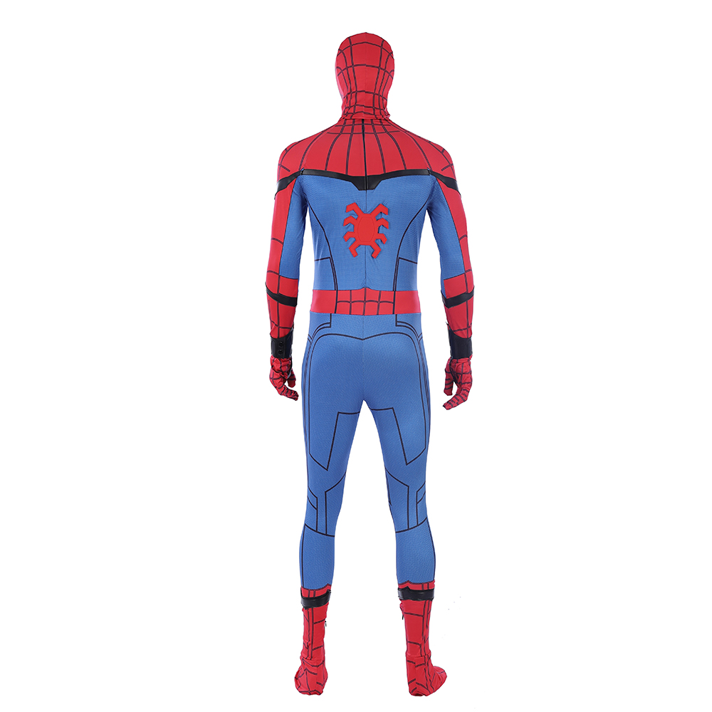 Spiderman Costume Spider man Cosplay Jumpsuit