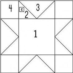 photo regarding Printable Barn Quilt Patterns identify Printable Barn Quilt Behavior quilt sq. template