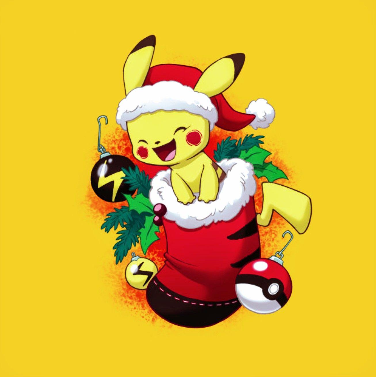 Pikachu Stocking Stuffer Pokemon Christmas Christmas Pokemon Cute Sketches Cute Pokemon